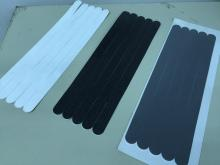 PVC Embossed Non-Skid Strips tapes (Clear, Black, Grey, White)